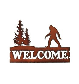 Sasquatch Welcome Sign