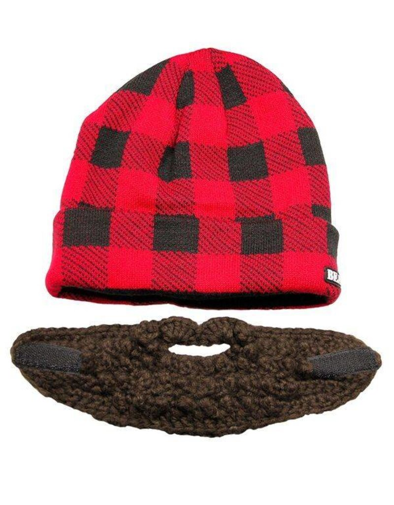 Bearded Plaid Hat