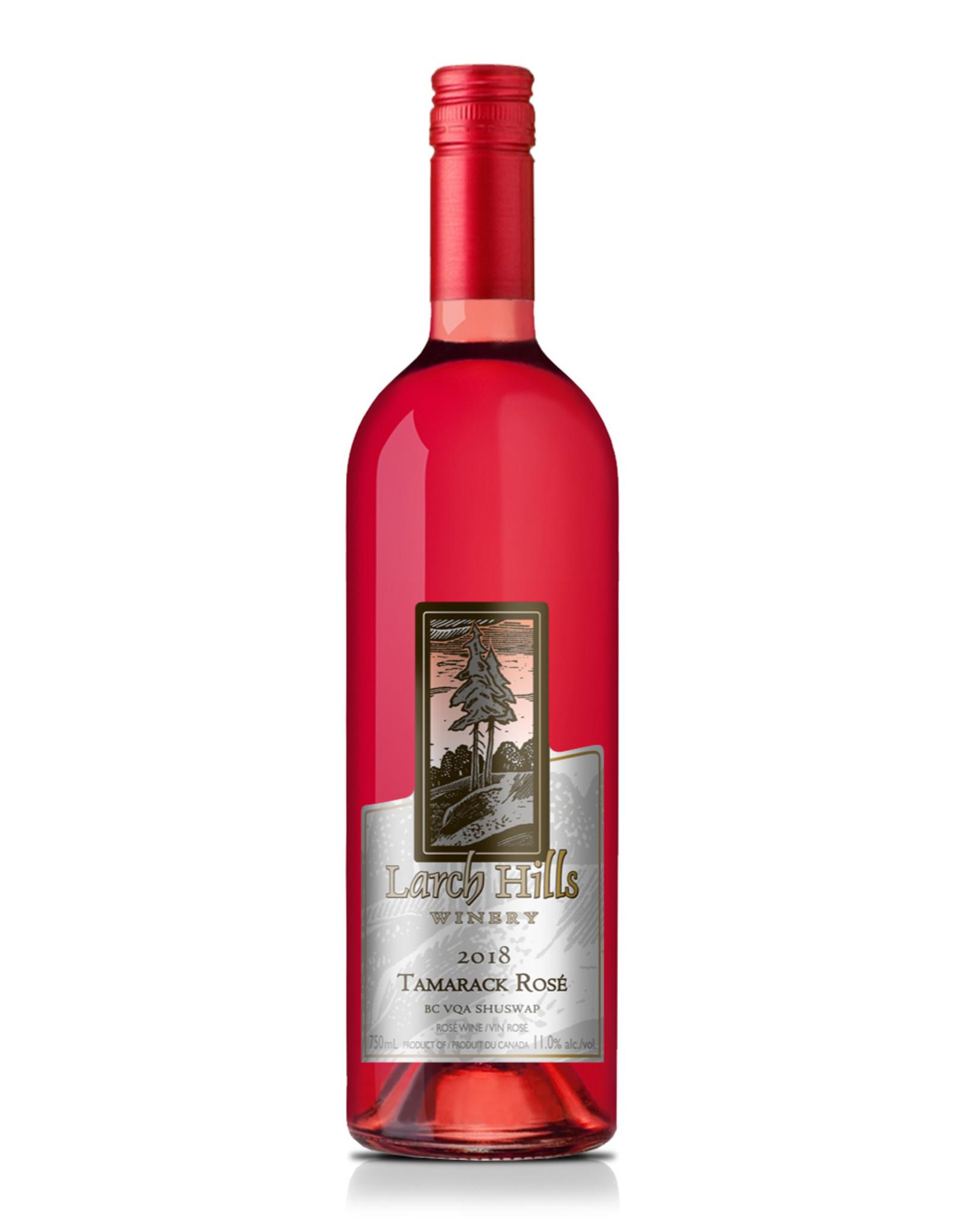 Larch Hills Winery Tamarack Rosé (2) - BTL