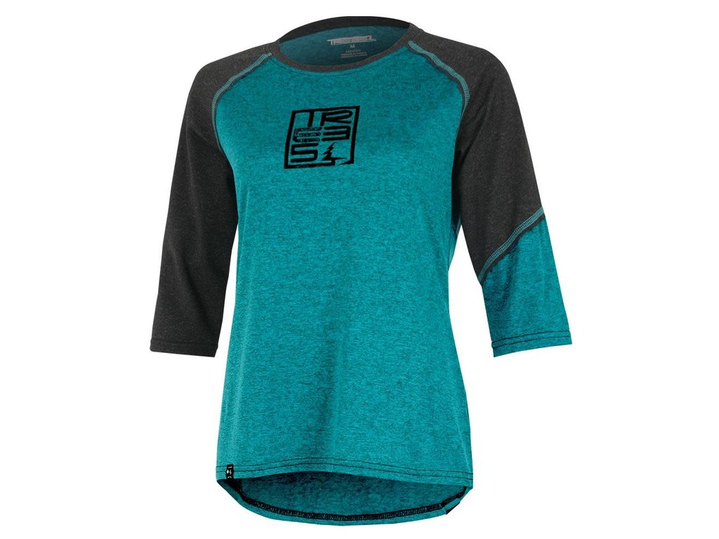 Tech Camiseta Árboles Momentum 34 Sleeves Teal Mujeres Velo l1cuTJFK3