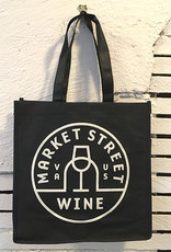 True Brands Market Street Wine 6 Bottle Wine Bag