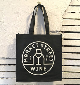 True Brands Market Street Wine 6 Bottle Wine Bag