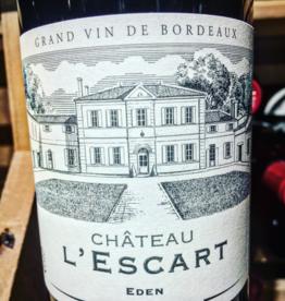 Chateau L'Escart Cuvée Eden Grand Vin de Bordeaux