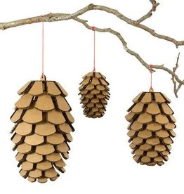 Cardboard Safari Cardboard Safari Pine Cone Variety Set - brown