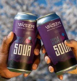 Väsen Brewing Company Väsen Triple Berry Sour can 16oz 4P