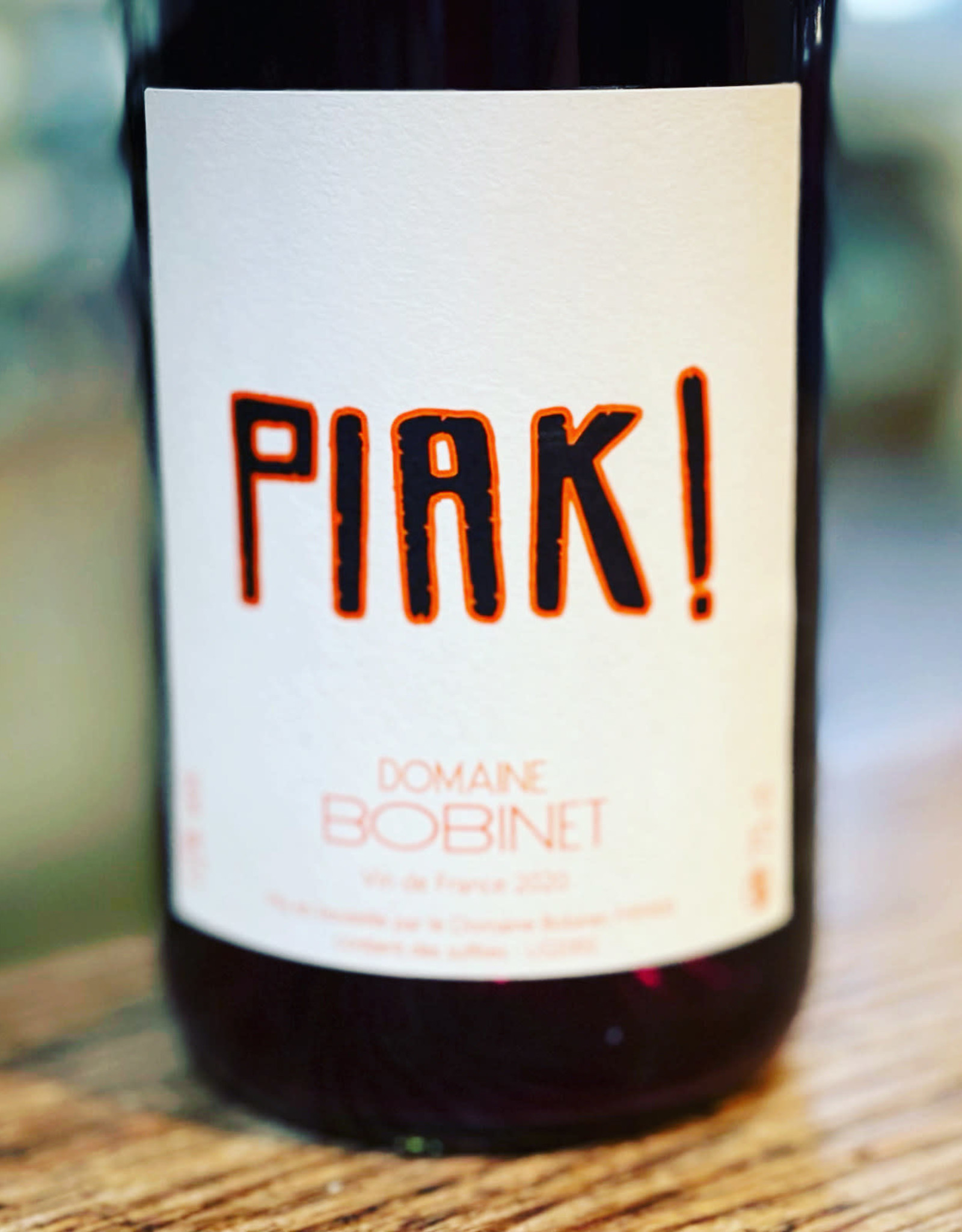 Domaine Bobinet Piak! Rouge