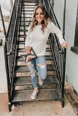 Becky Fray Hem Jeans