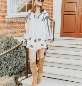 Wild Horses Embroidered Tunic