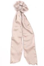 Satin Ribbon Tail Scrunchie