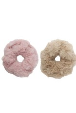 Faux Fur Scrunchies