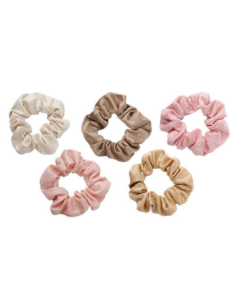 Metallic Scrunchies