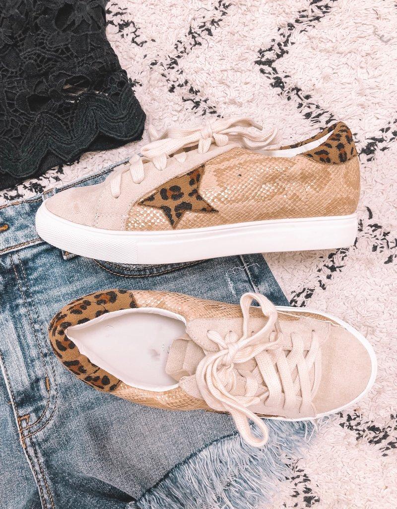 Leopard Snake Star Sneaker