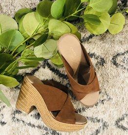 Buay Split Suede Sandal
