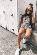Leopard Short Overall