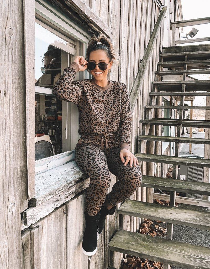Layla Leopard Jogger