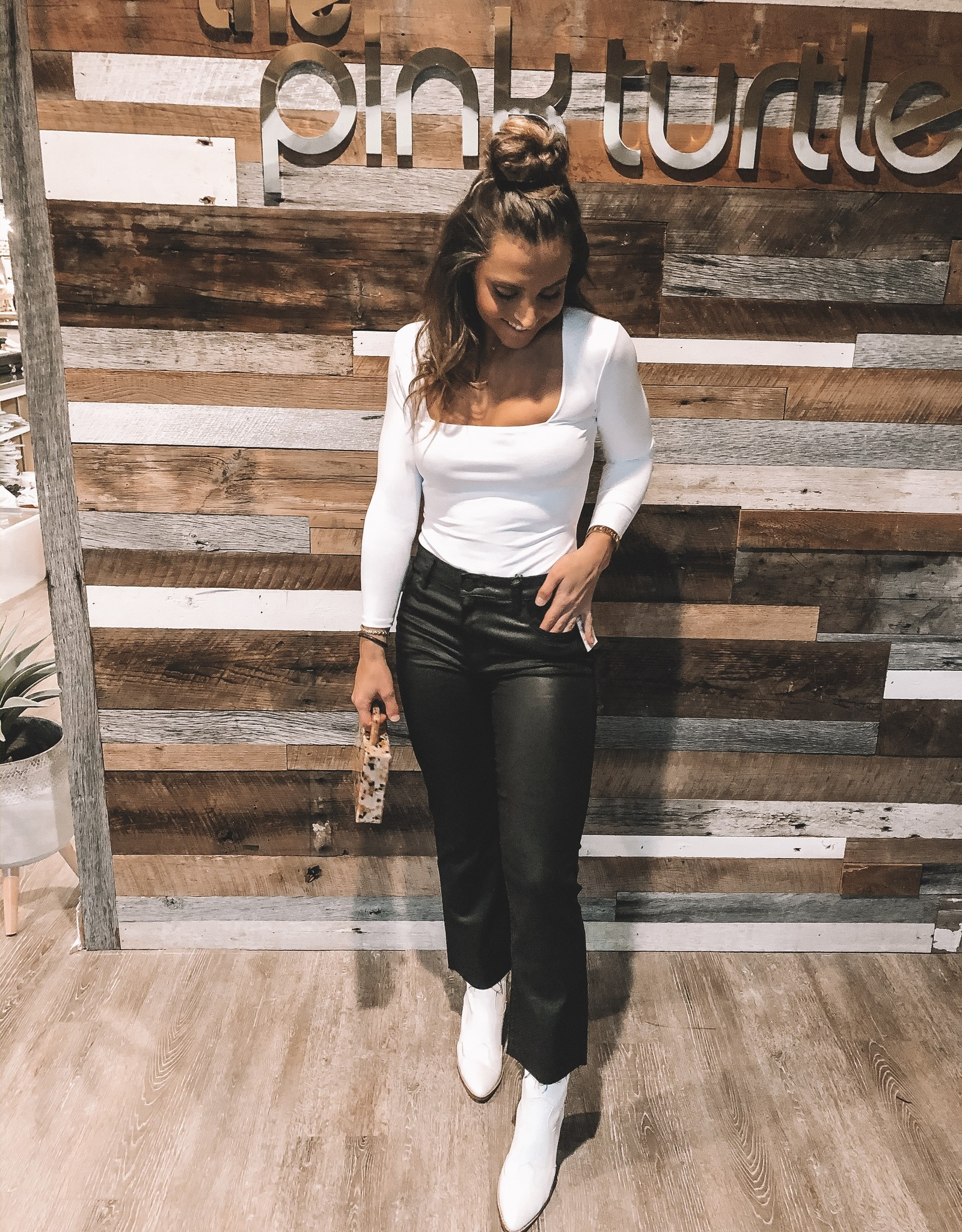 Kelsey High Rise Ankle Flare
