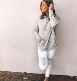 Mina Stripe Pullover