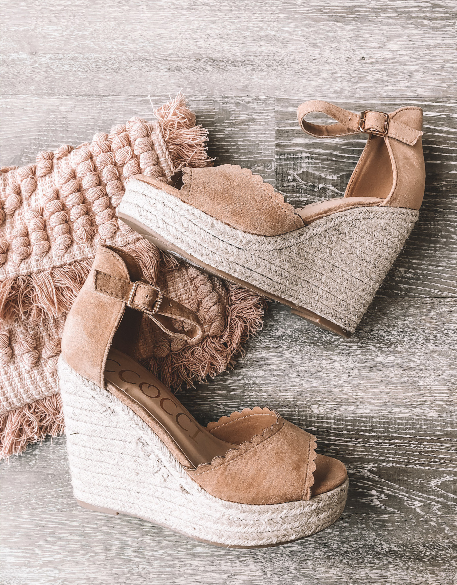 Tessie Wedge Sandal