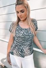 Z Supply Zebra Tee