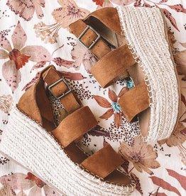Soire Saddle Platform Sandal
