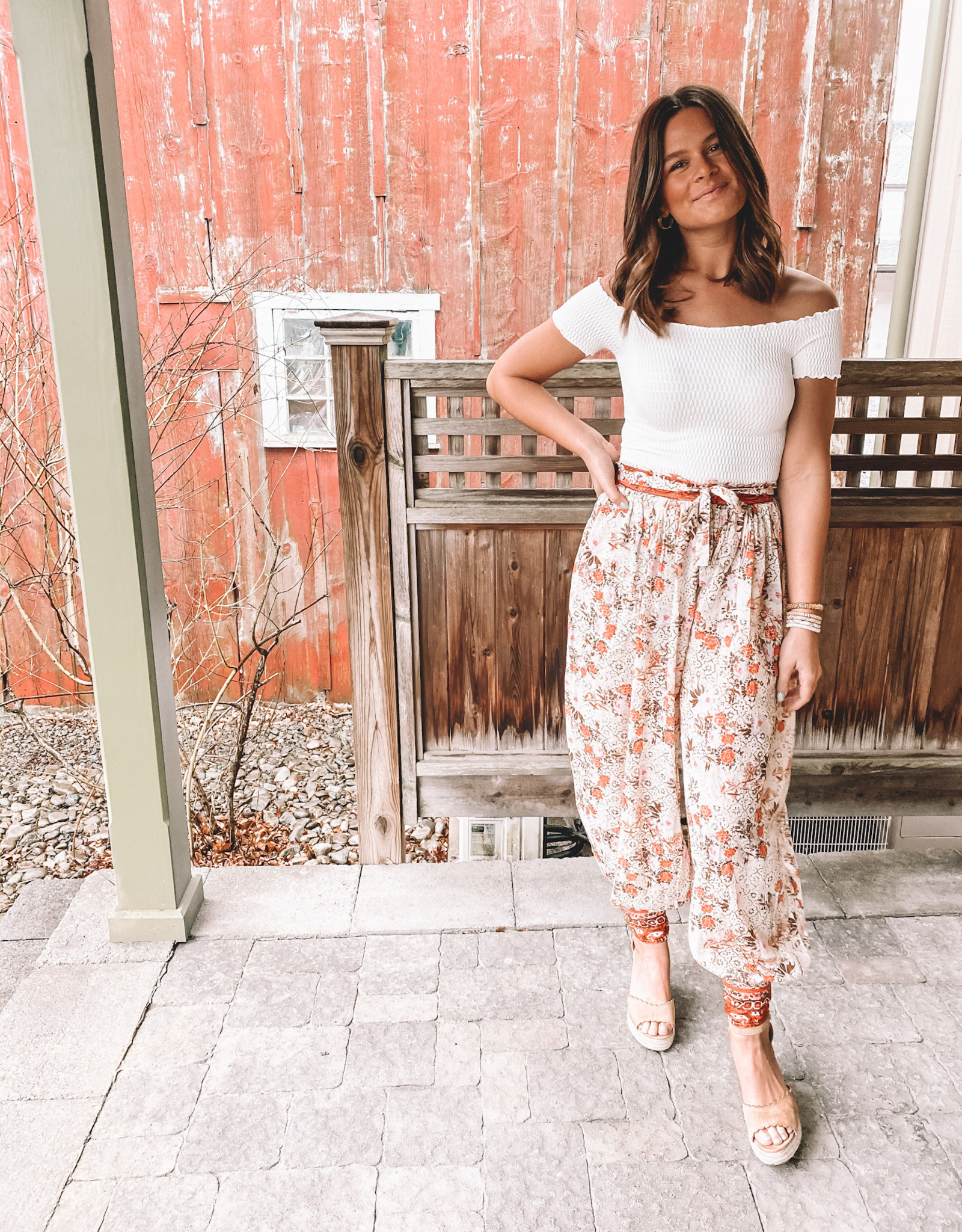 Free People Picnic Partay Pant