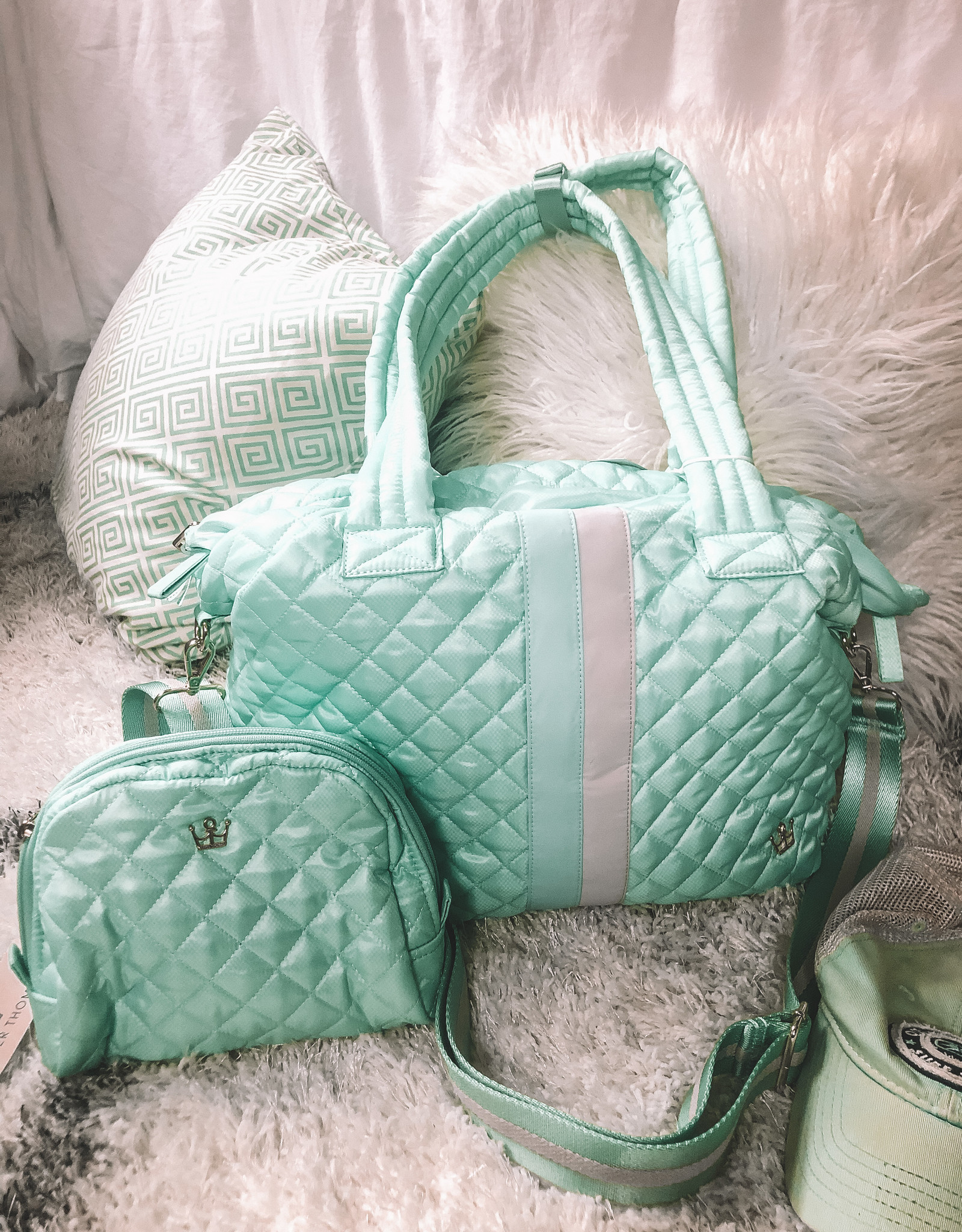 Quilted Kitchen Sink tote