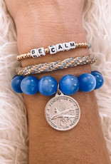 Keep Calm & Fly On Styled Stack