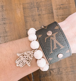 Styled Stack LV Stud Cuff  & Protection