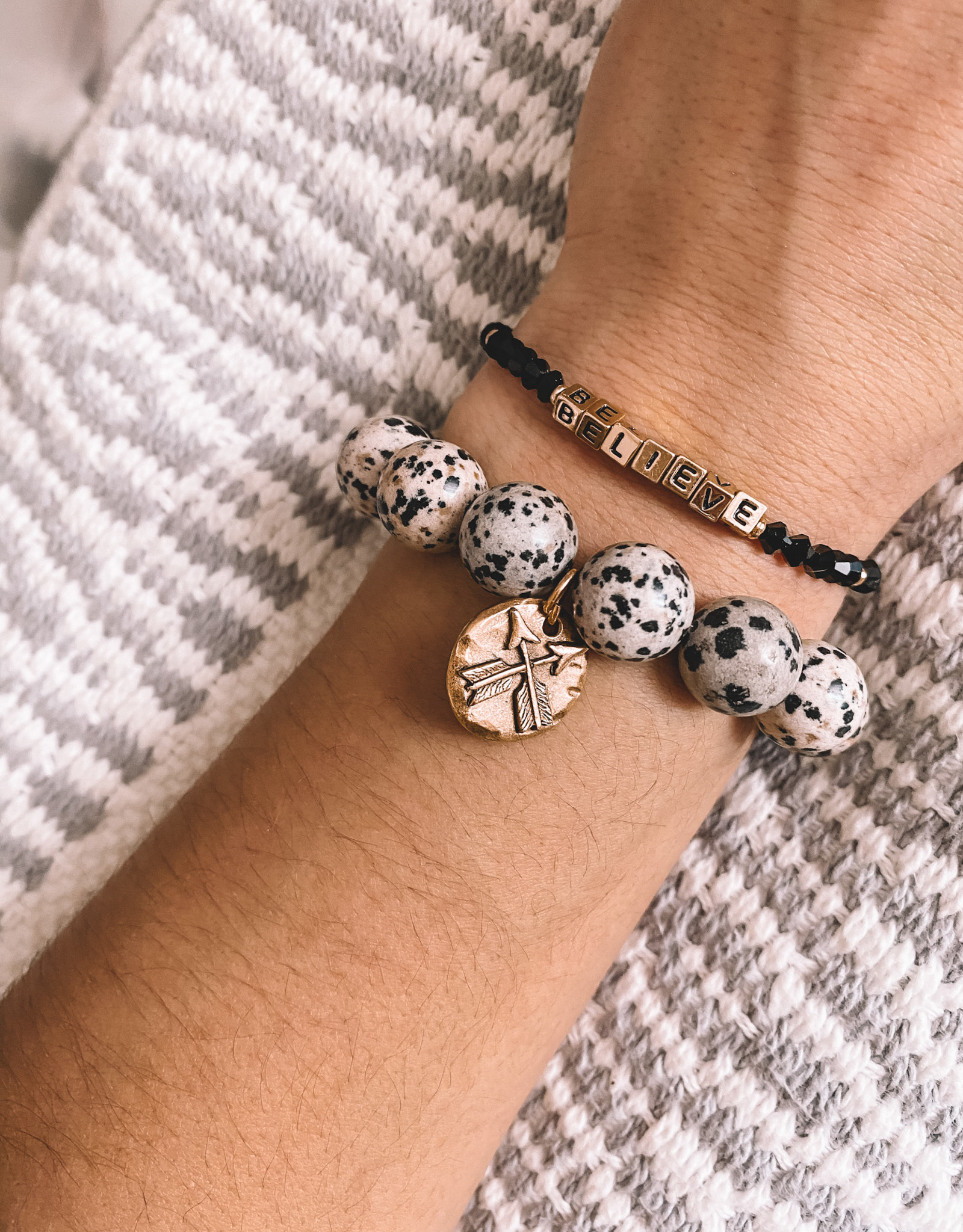 Have Faith & Believe Styled Stack