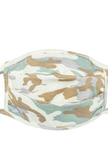 Fashion Mask Jade & Cream Camo