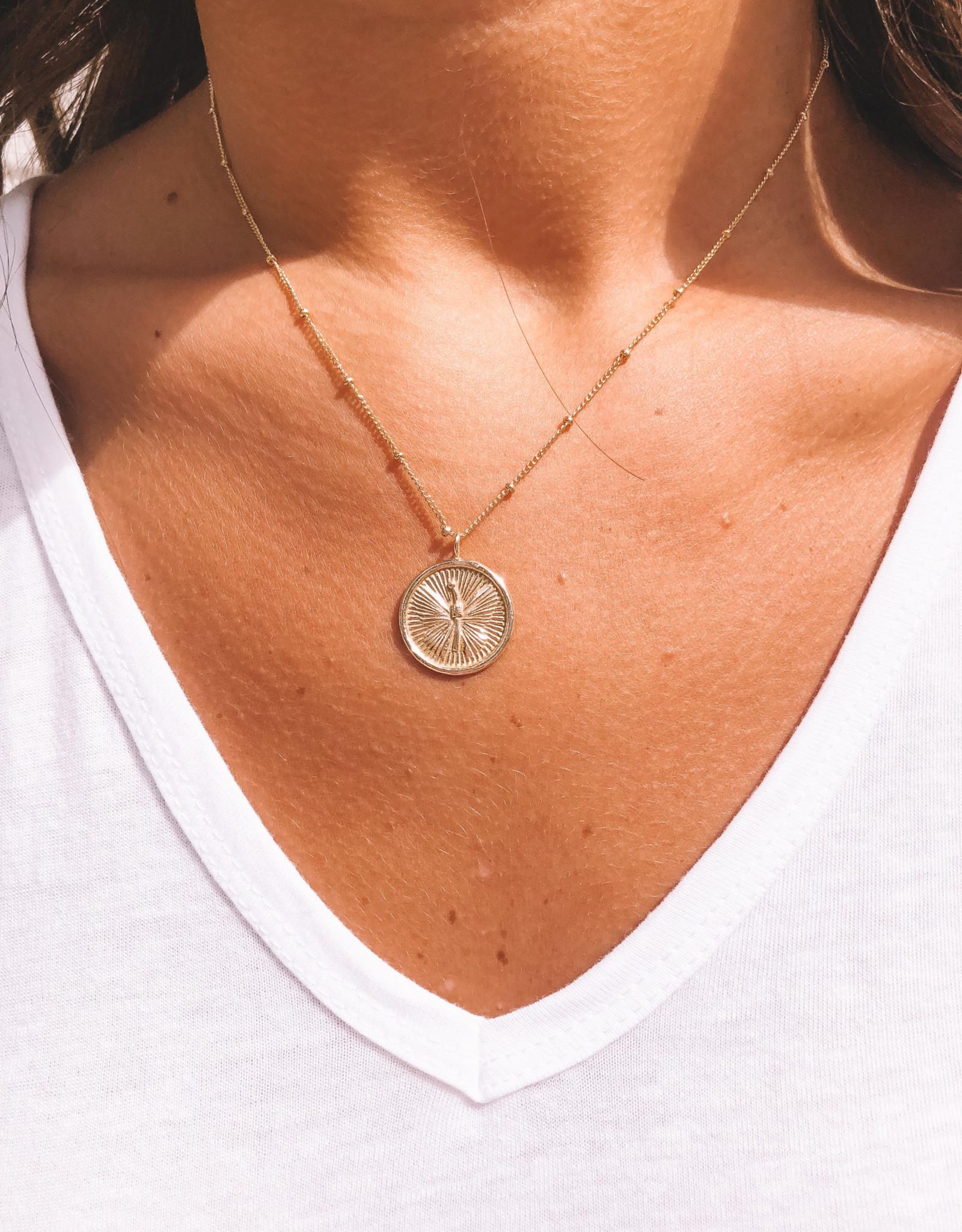Medallion Pendant Butterfly