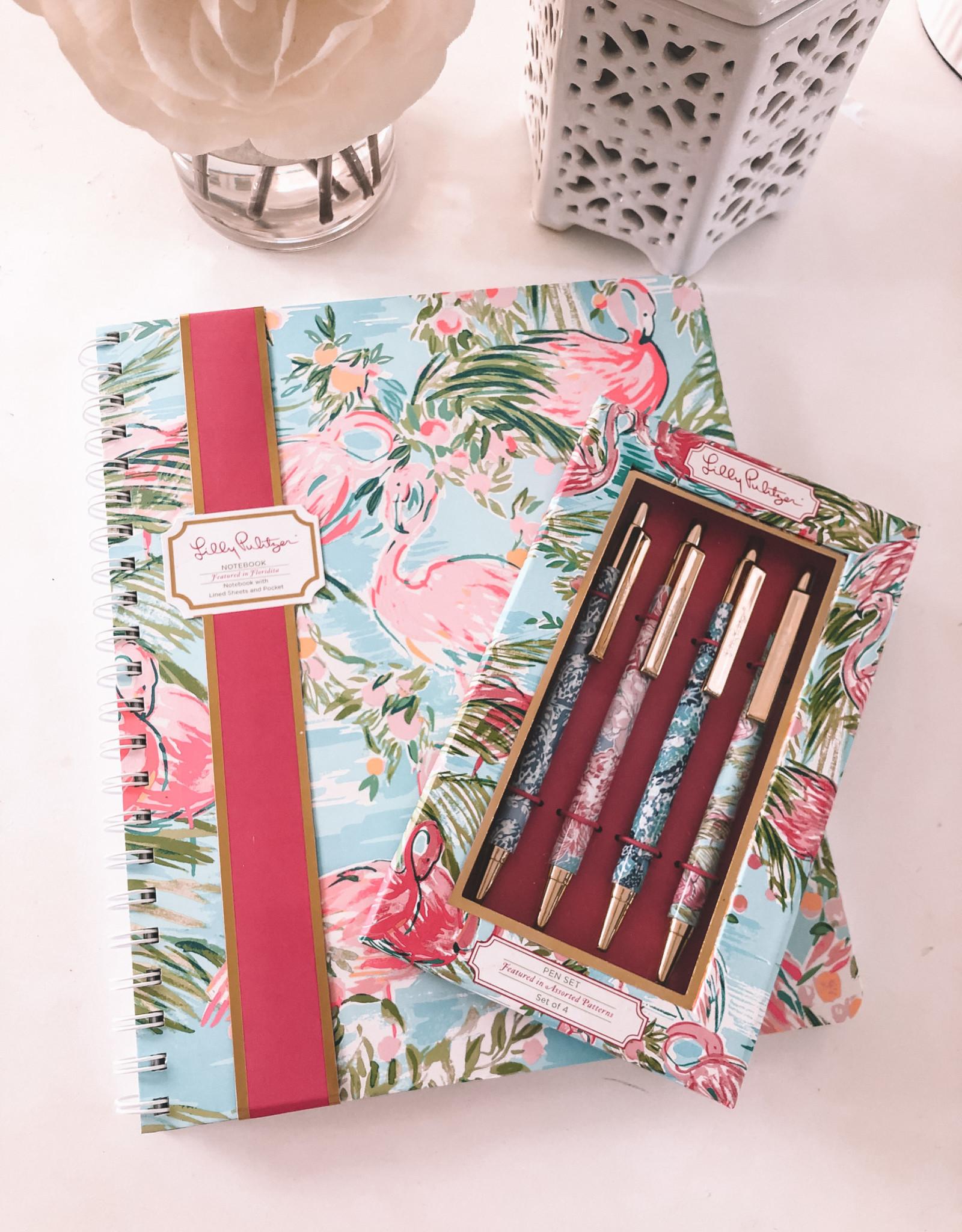 Lilly Lovin' Pen & Notebook Gift Set