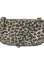 Leopard Crossbody Wristlet