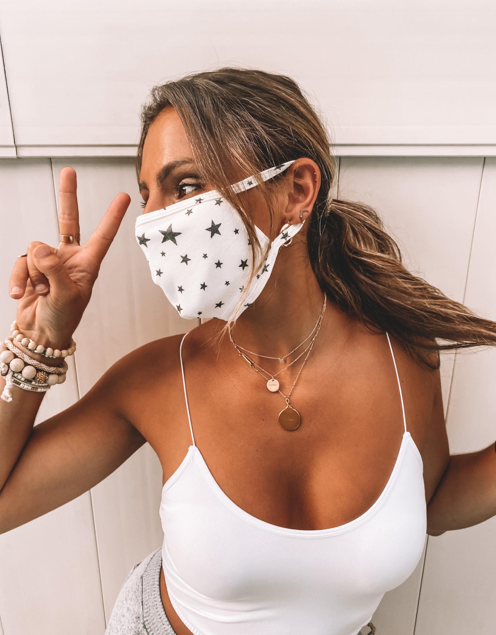 Star Print Mask