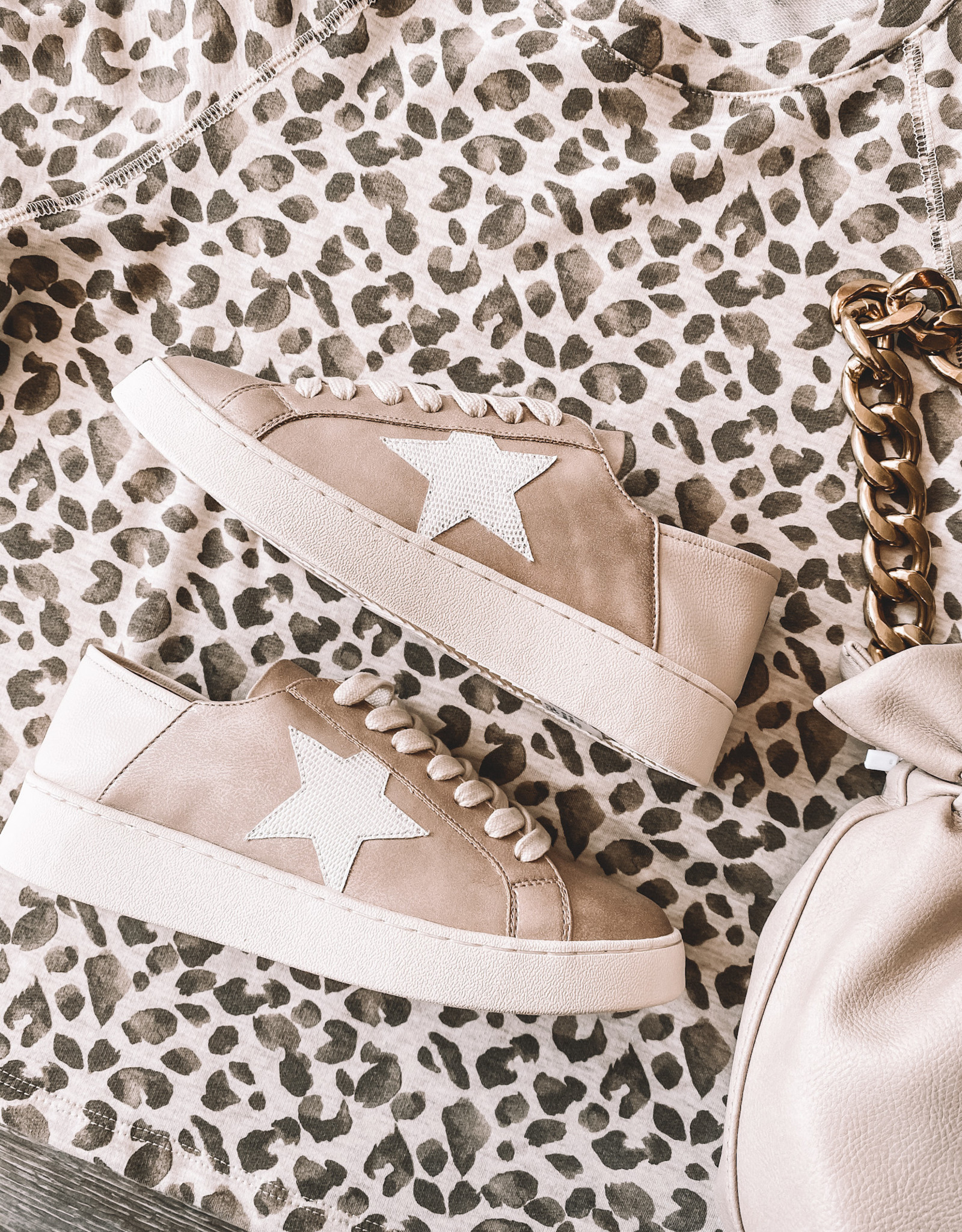 Hayden Star Sneaker Rose Gold