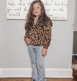 Kids River Fur Hoodie