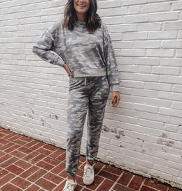 Z-Supply Ava Rose Camo Jogger