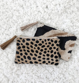 Cowhide Mini Clutch