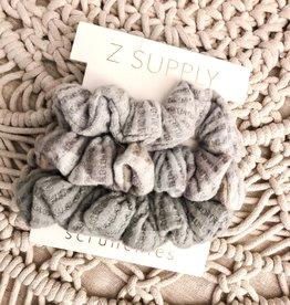 Z-Supply 3 Pack Scrunchies Sage Mist