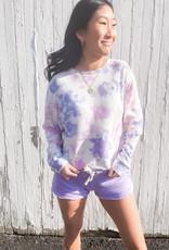 Petal Burnout Shorts