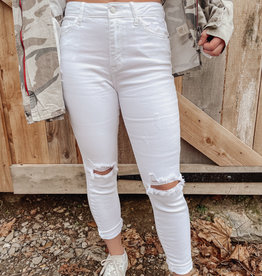 Felicity White Skinny Jeans