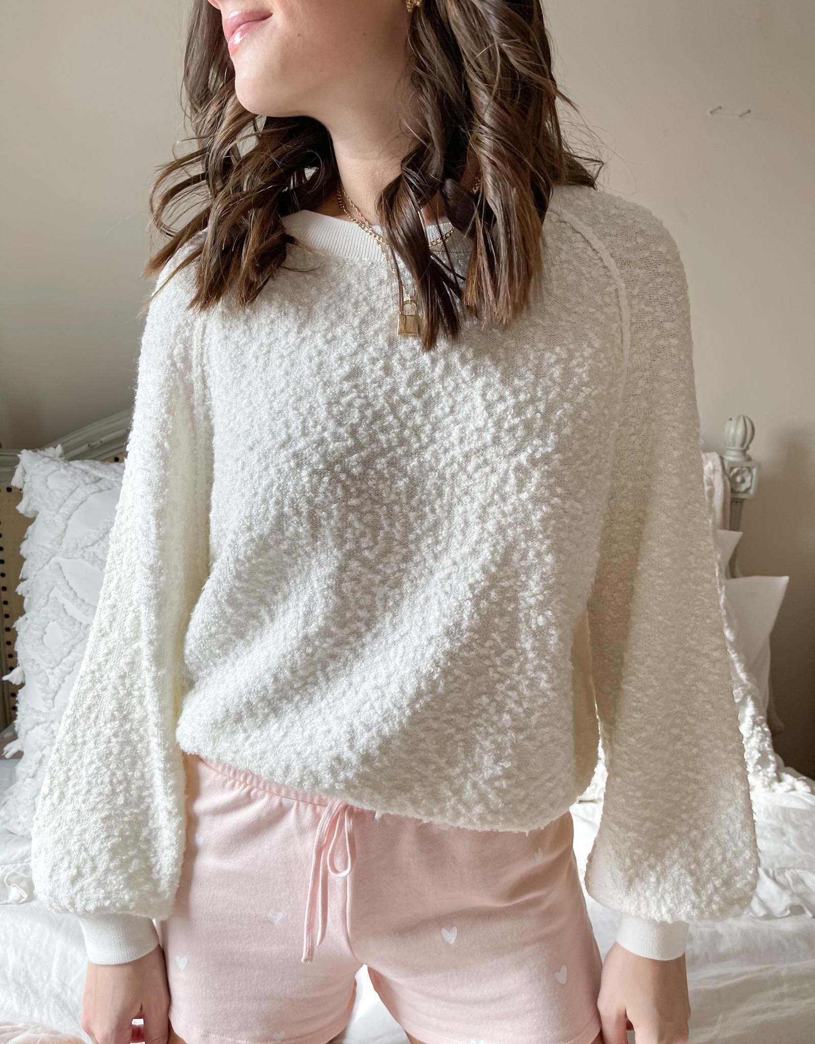 Diane Fuzzy Sweatshirt
