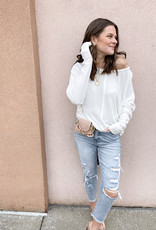 Brenna Long Sleeve Knit Top