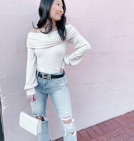 Cameron Off The Shoulder Knit Top