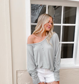 Casey Long Sleeve Knit Top