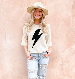 Calla Lightening Bolt Sweater