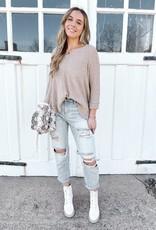 Kerri V-Neck Knit Sweater