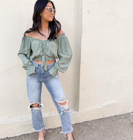 Ember Off The Shoulder Top