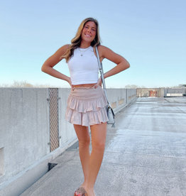 Camilla Ruffle Mini Skirt