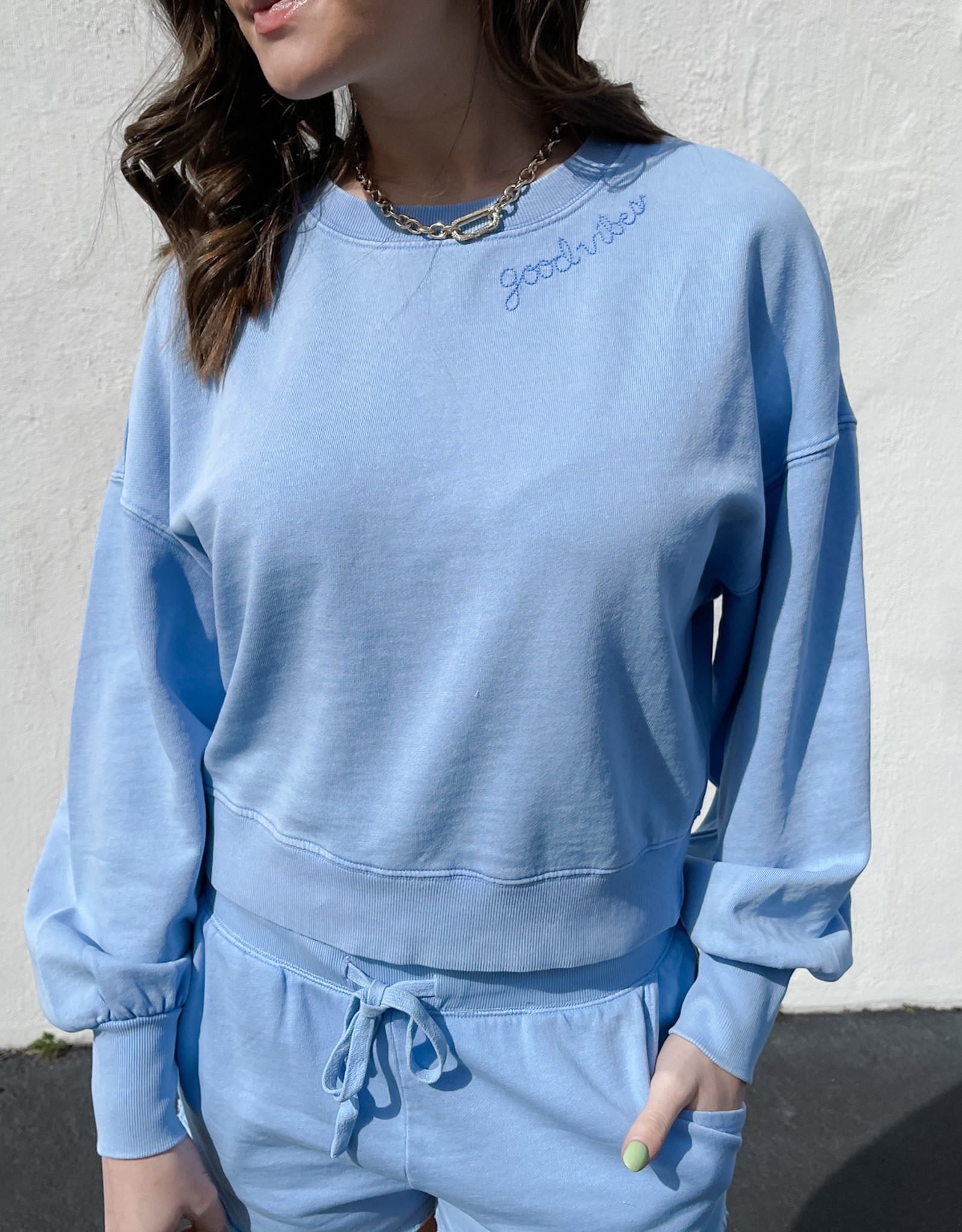 Z Supply Lia Washed LS Top